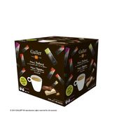 Assortiment mini repen chocolade Galler + 1 doos met 18 mini-tabletten gratis