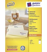 Etiquettes multi-usages Avery / Zweckform